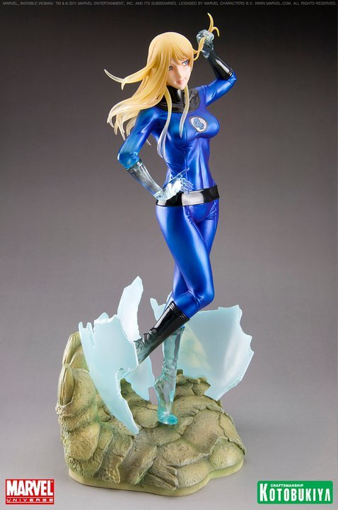 Marvel Bishoujo Invisible Woman Statue