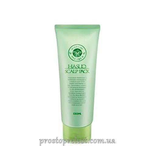 PL Cosmetic Hasuo Scalp Pack - Лечебный комплекс для кожи головы