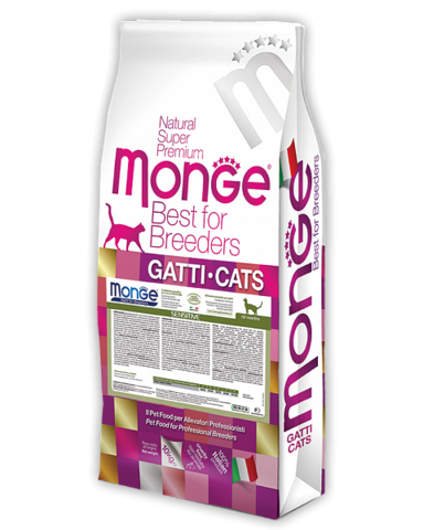 Сухой корм Monge Pet Food Breeders Adult Cat Sensitive