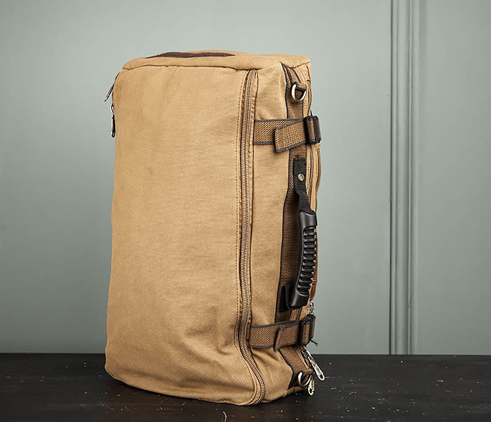 BAG365-2 Рюкзак-трансформер из плотного текстиля фото 06