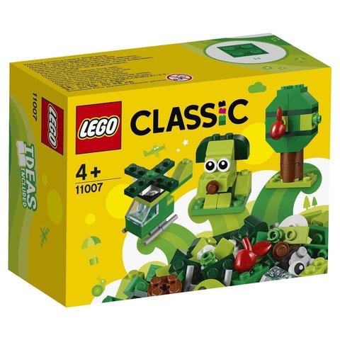 LEGO Classic: Зелёный набор для конструирования 11007 — Creative Green Bricks — Лего Классик