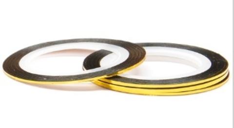El Corazon Лента (скотч) №101-116 для дизайна ногтей Ассортимент 1мм,длина 20м