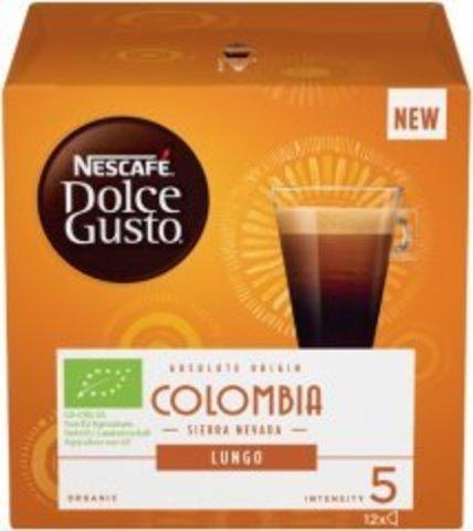 Кофе в капсулах Nescafe Dolce Gusto Lungo Colombia (12 капс.)
