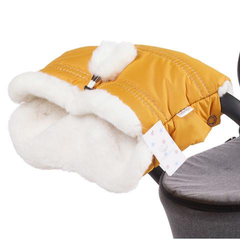 Муфта для коляски Lollycottons медовая