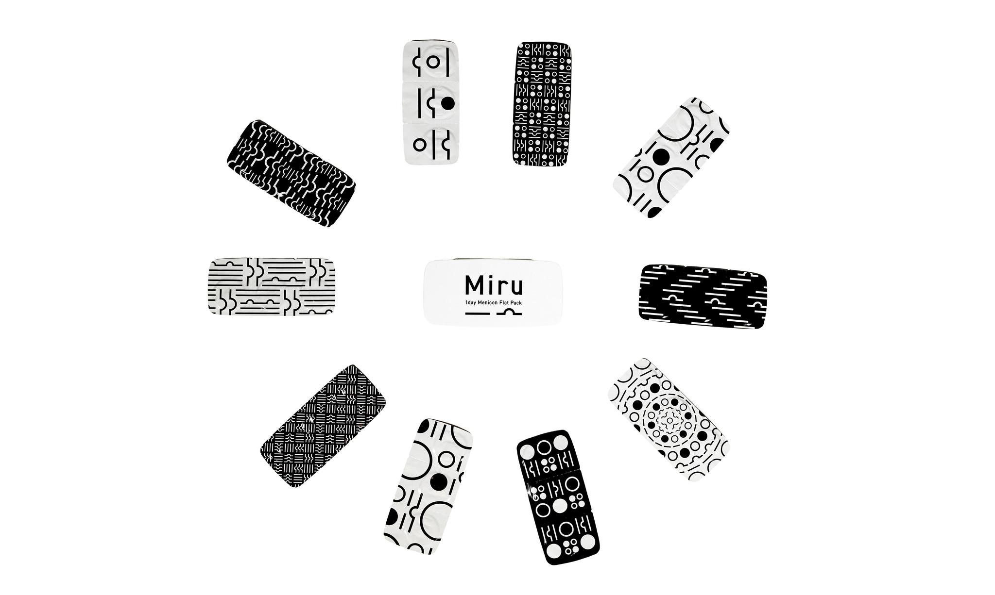 Контактные линзы Miru -2,25