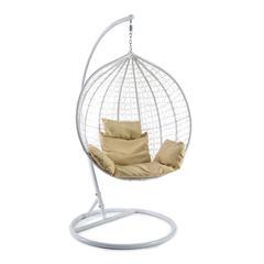 Кресло подвесное (mod. SC-001) с подушкой (белый)