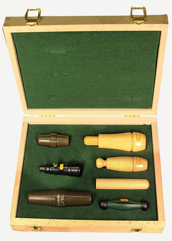 Набор манков в деревянной коробке Hubertus
