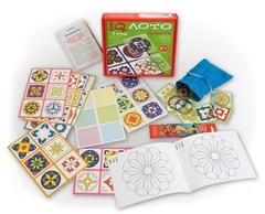 Развивающая игра IQ лото Орнаменты (комплект из 3 игр), Айрис Пресс