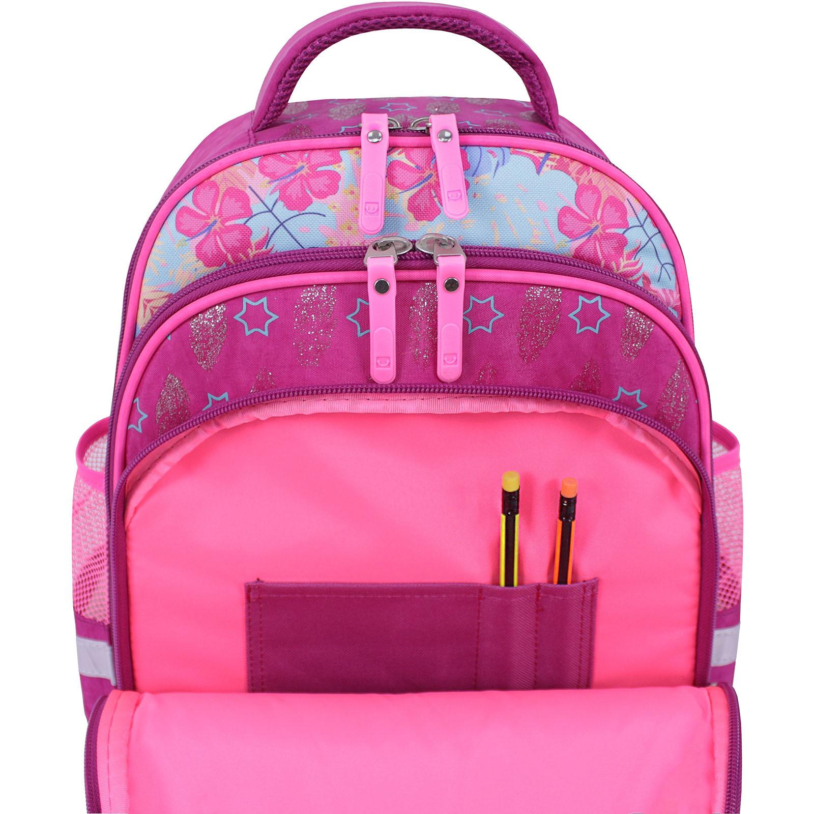 Рюкзак школьный Bagland Mouse 143 малиновый 514 (0051370) фото 5