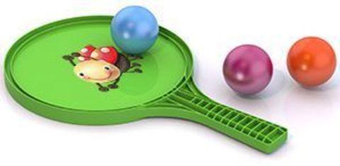 Набор игровой ракетка+3шарика/431781