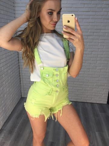 комбинезон женский летний с шортами джинсовый недорого