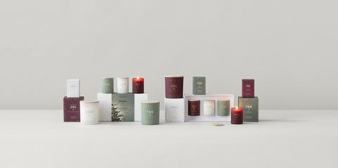Набор из 3 ароматических свечей ONSKA mini по 55 г