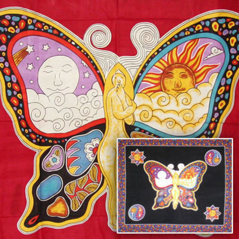 Покрывало  Небесная бабочка