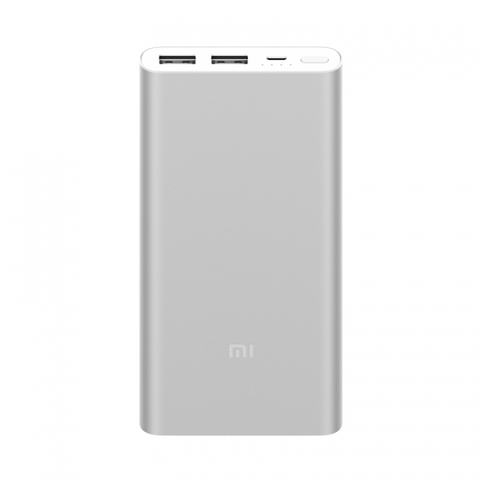 Xiaomi Mi Power Bank 2i 10000 mAh (2 USB) (Silver-Серебристый)