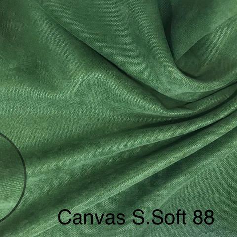 Канвас зеленый оптом. Ширина - 280 см. Арт.88 Турция