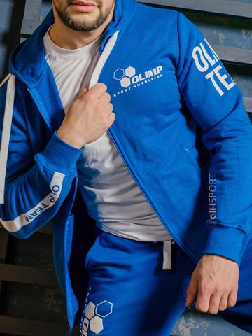 Толстовка унисекс Olimp TEAM BLUE