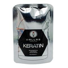 Dallas Шампунь KERATIN с Кератином и молочными протеинами, 70г.