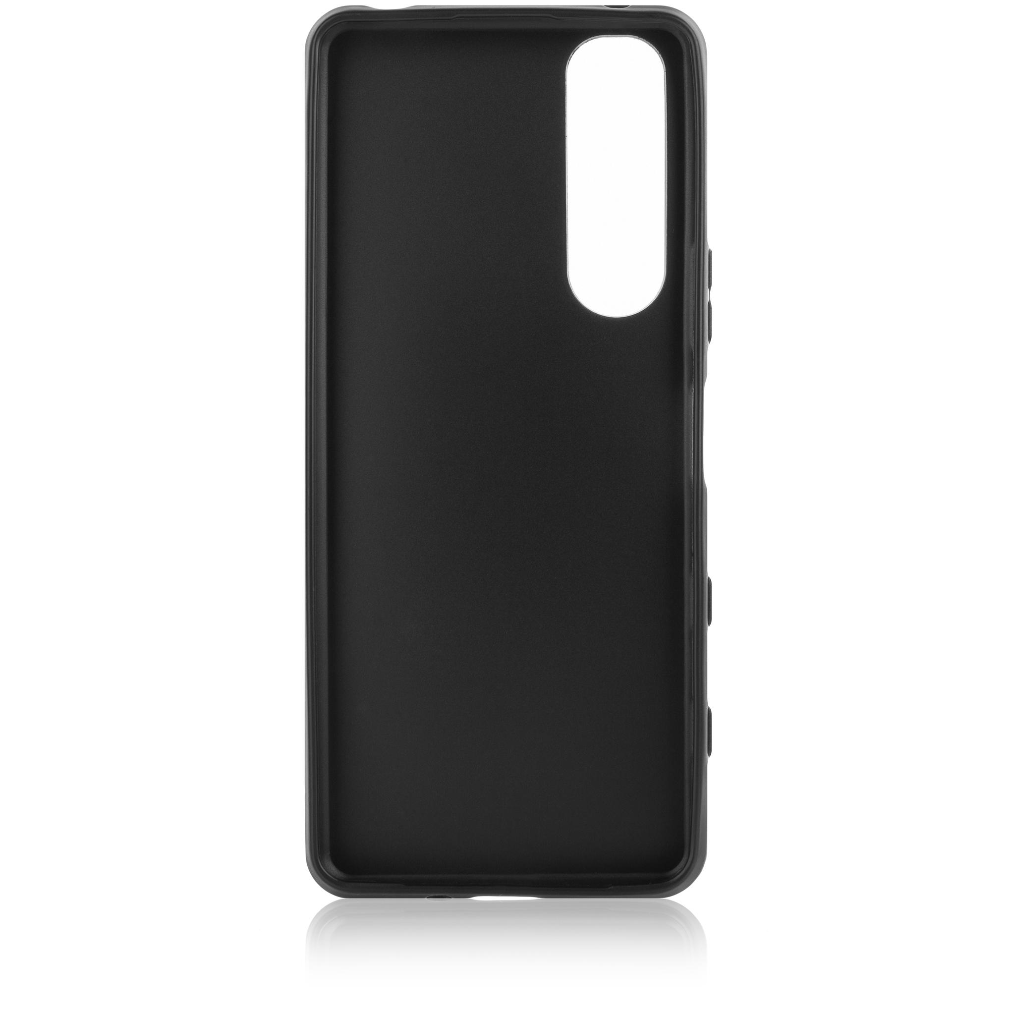 Накладка матовая для смартфона Xperia 5 III чёрного цвета