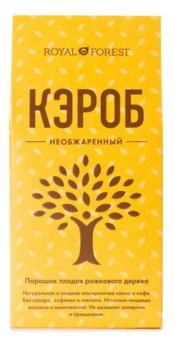 Кэроб порошок, Royal Forest, Необжаренный, 200 г