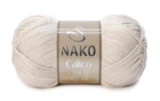 Пряжа Nako Calico бежевый 10874