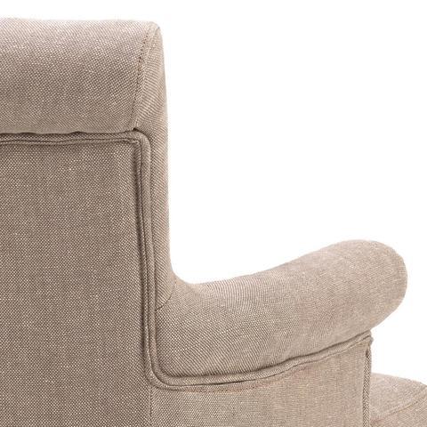 Обеденный стул Eichholtz 107634 Key Largo (с подлокотниками)