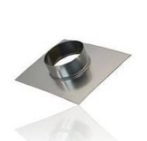 Фланец (Врезка) D 355 оцинкованная сталь