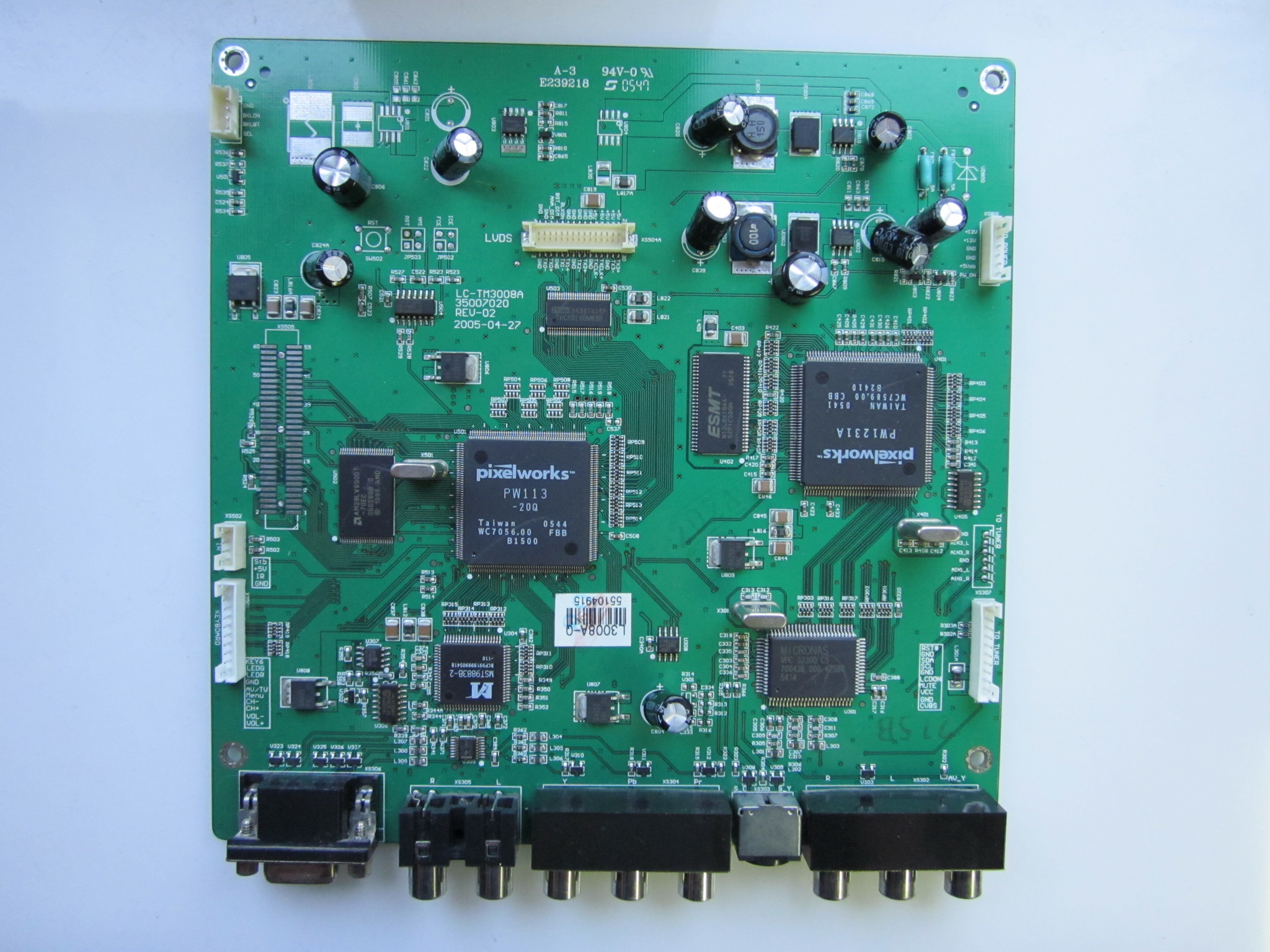 MAIN LC-TM3008A REV-02