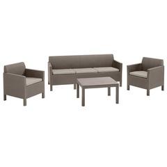 Комплект уличной мебели Allibert Orlando Triple Set