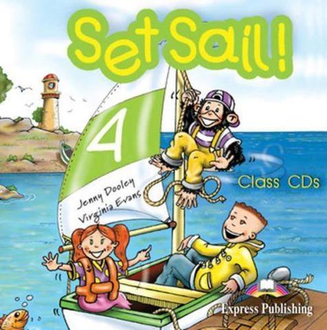 Set Sail 4. Pupil's Audio CD. Beginner. (International). Аудио CD для работы дома