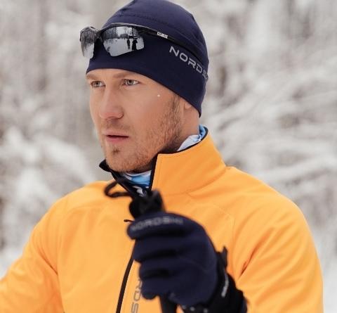 Лыжная беговая шапка Nordski Warm Blueberry