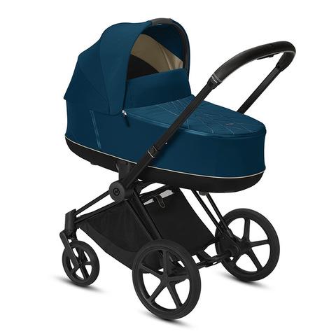 Коляска для новорожденных Cybex Priam III Mountain Blue Matt Black