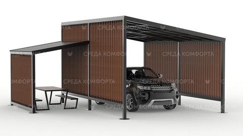 Навес для автомобиля AVNVS0051