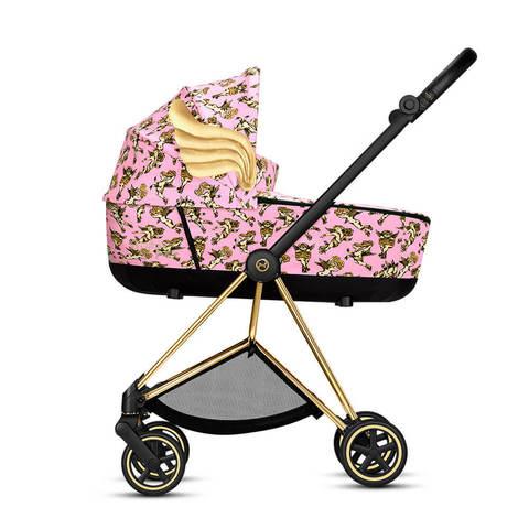 Детская коляска Cybex Mios 3 в 1 FE JS Cherubs Pink