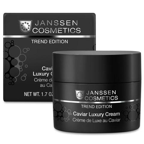 Janssen Trend Edition: Роскошный обогащенный крем с экстрактом черной икры (Caviar Luxury Cream)