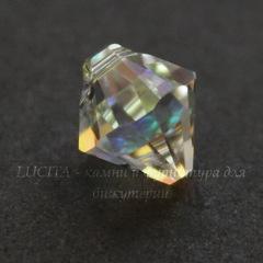 6328 Подвеска Сваровски Биконус Crystal AB (8 мм)