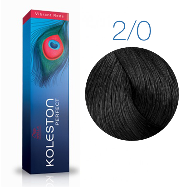 Wella Professional KOLESTON PERFECT 2/0 (Черный) - Краска для волос