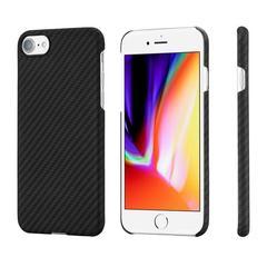 Чехол Pitaka MagCase iPhone 7/8 Black/Grey (Twill)