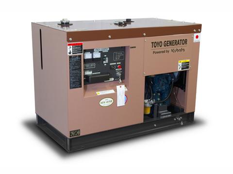 Дизельный генератор TOYO TKV-15SPC