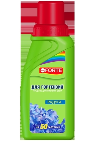 Средство для изменения цвета гортензий Bona Forte 285мл Радуга