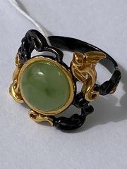 Гиза- нефрит (кольцо из серебра)