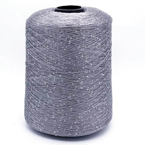 Пряжа Paillettes 062 серебро