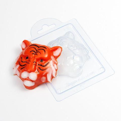 Барельеф Тигр форма пластиковая