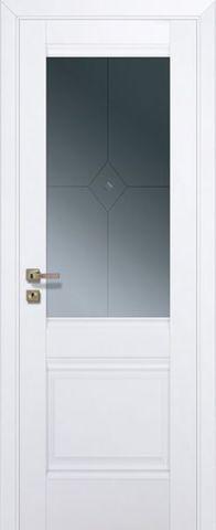 Дверь № 2 U (аляска, остекленная экошпон), фабрика Profil Doors