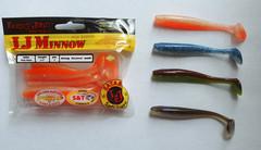 Мягкая приманка Lucky John MINNOW 4.4in (111 мм), цвет T18, 5 шт.