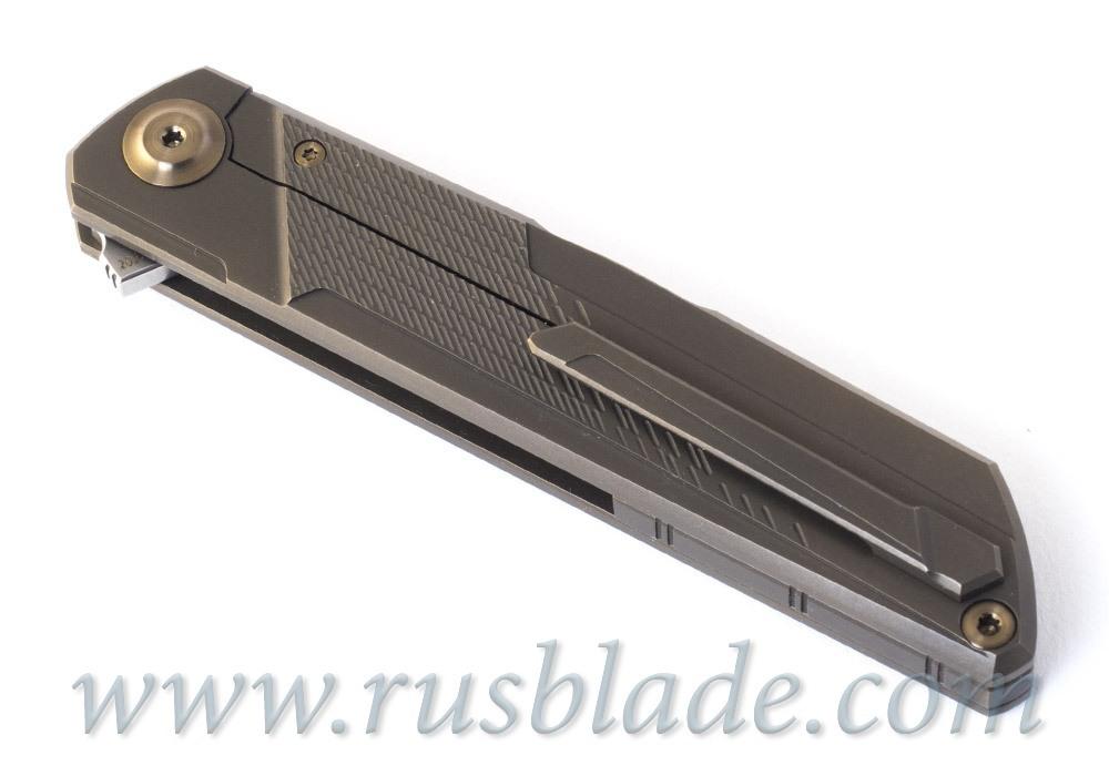 Cheburkov Dragon M390 Folding Knife Limited - фотография