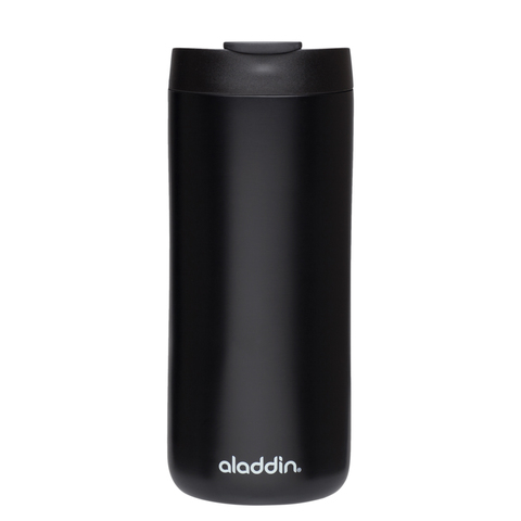 Термокружка Aladdin (0,35 литра) из нержавеющей стали, черная