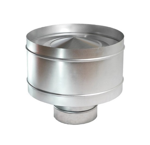 Дефлектор крышный D 355 оцинкованная сталь