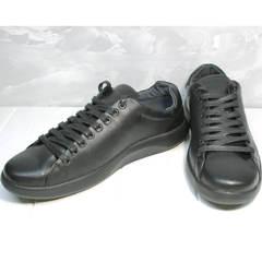 Мягкие кроссовки для ходьбы мужские GS Design 5773 Black