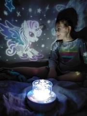 Музыкальный вращающийся ночник проектор звездного неба