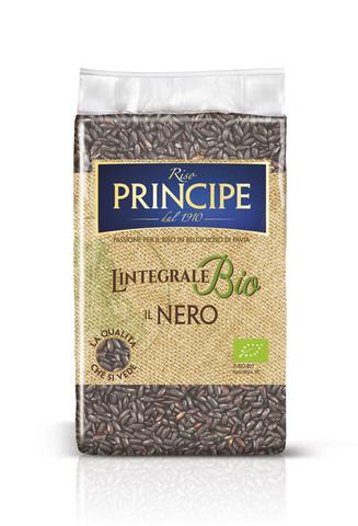 Nero - Органический цельнозерновой среднезёрный чёрный рис Riso Principe